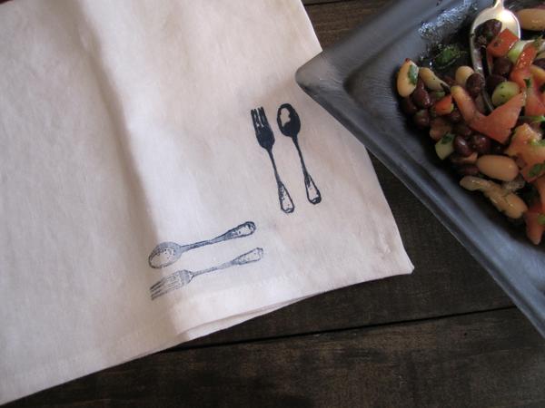 bean-salad-napkin