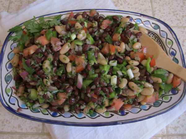bean-salad-on-server